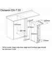Dunavox DX-7.22SSK Винный шкаф