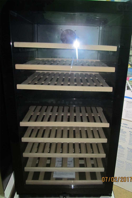 Винный шкаф отдельно стоящий