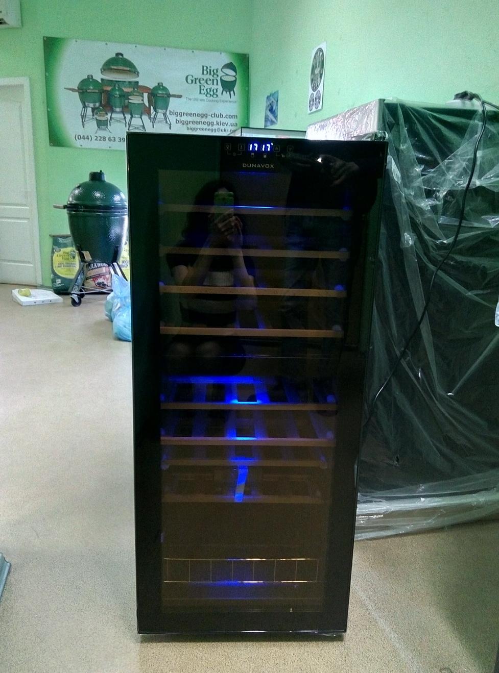 Винный холодильник Dunavox