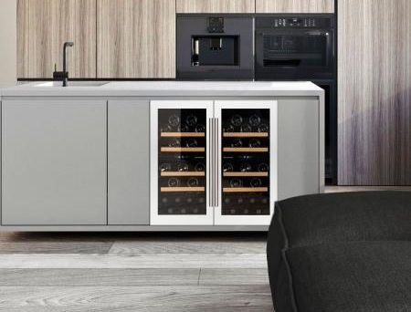Белый винный холодильник купить